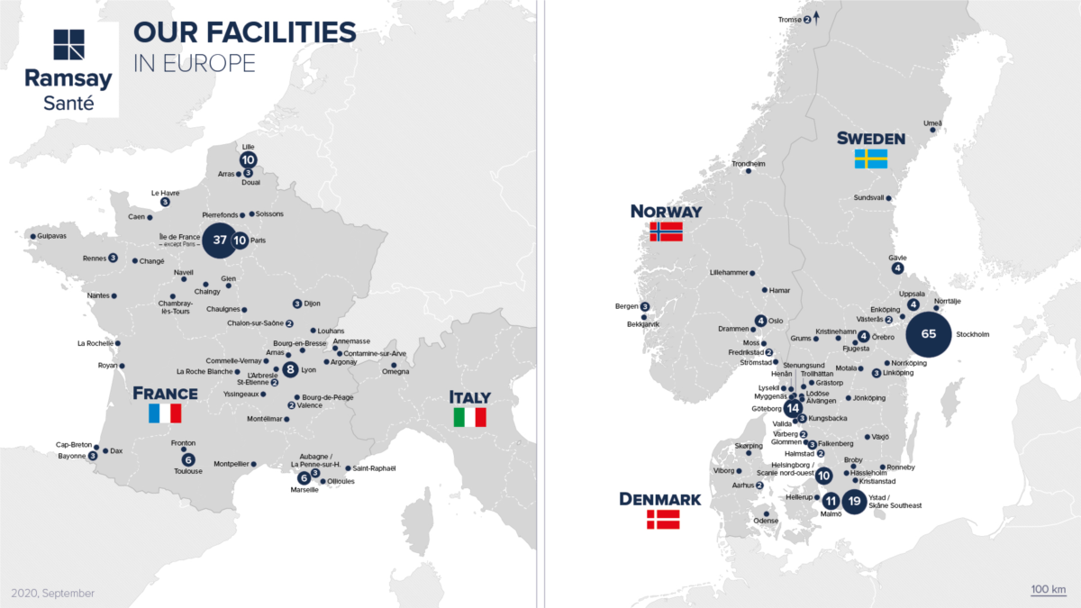 Our facilities in Europe